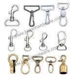 旋回装置のリングが付いている合金の金属袋のスナップのホック