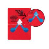 Etiqueta de empacotamento do PVC da inclinação da etiqueta do impato
