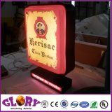 3D LED de exterior en relieve Blister signo vacío