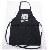 L'OEM del fornitore ha personalizzato il grembiule promozionale della cucina della busbana francese del cotone stampato disegno