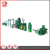 Linha de produtos automática da extrusora da máquina do cabo elétrico