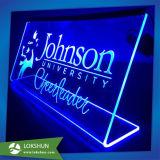 プレキシガラスのLED表示照明立方体ボックス