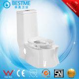 Agua dual del ahorro del armario del tocador del cuarto de baño con el bidé Bc-1307