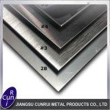 AISI 201 304 316 310S 430 placa de acero inoxidable de la rayita No. 4