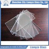 vidrio de flotador inferior del hierro de 6m m para Building&Furniture