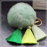 [كك4] رخيصة أرنبة ليّنة حقيبة [كشين] فروة جليد حريريّة [تسّل] فروة [كي شين] يكيّف كرة قطيفة كرة مدلّاة عادة [كشين]
