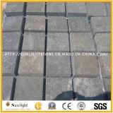 Pietra nera/grigia del Hainan smerigliatrice naturale del basalto/lava per la pavimentazione delle mattonelle