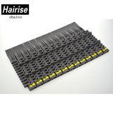 Transportband van het Type van Overgang van Hairise de Dynamische Vlakke Plastic