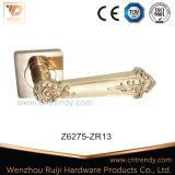 Maniglia del hardware della mobilia del portello sul rame rotondo dell'oggetto d'antiquariato della rosetta (z6272-zr03)