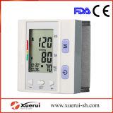 Totalmente Wrist-Type Monitor de pressão arterial eletrônicos médicos