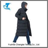 Куртка длиннего типа людей теплая вниз