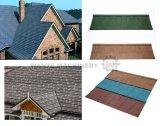 La piedra colorida saltara la fabricación de acero revestida de las ripias del material para techos en China