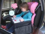 Поднос игры перемещения малышей места малолитражного автомобиля держателя игрушки складывая