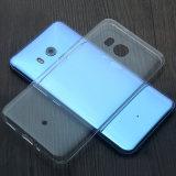 Ультра тонкая прозрачная мягкая крышка случая силикона геля TPU для HTC u 11