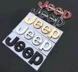 Эмблема ABS черного письма автомобиля собственной личности слипчивая для виллиса