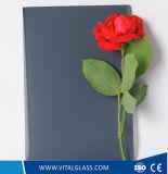 Ce&ISO9001 (G-F)를 가진 4-12mm 어두운 회색 부유물 또는 사려깊은 유리 또는 Tempered 건물 유리
