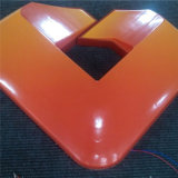 Kundenspezifische Acryl-ABS Aluminiumheller Kasten des rahmen-LED