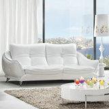 بيضاء حديث تصميم جلد أريكة, [فكتوري بريس] [غود قوليتي] (621)
