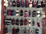 Gekämmte Baumwolle 96n sondert Zylinder-Baby-Socken mit den Ohren 3D aus
