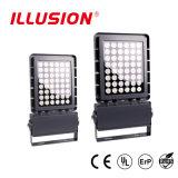 Illusione nuovo R/G/B/W lanciato IP67 3 anni del LED di indicatore luminoso di inondazione warrenty