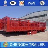 Tipo Flatbed da cerca reboque da plataforma Semi para a venda