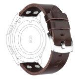 SamsungギヤS3革バンドのための贅沢な本革ストラップの置換のブレスレットの時計バンド