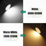 Der Leistungs-E27 E14 Gu5.3 MR16 GU10 LED Scheinwerfer Cup-der Lampen-3W 4W 5W LED