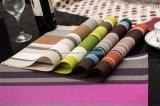 De geweven Vinyl Wasbare Matten van de Eettafel van pvc Placemat
