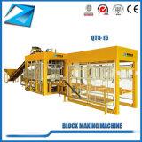 Qt8-15 führt Block-Maschinerie-Kleber-Ziegelstein-Maschine aus