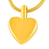 Pequeño Corazón encanto Urn Memorial de acero inoxidable colgante joyas para regalo
