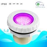 Multi-Colors encastrés à LED de haute qualité sous l'eau lampe eclairage Piscine