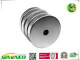 강한 둥근 실린더 N52 NdFeB 자석