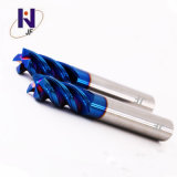 Venta caliente China Fabricación de carburo sólido 4 Flautas End Mill