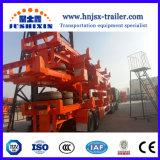2/3Cimc-Jsxt Terminal de contentores do porto o esqueleto do eixo semi reboque do veículo