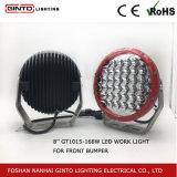 Ronda de IP68 High Power LED Osram coche ligero para SUV, ATV, Ute, el camión (GT1015-168W)