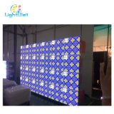 ガラス壁Windowsまたは鋼鉄ポーランド人のためのセリウムFCCが付いている低い電力の消費P4屋外の移動式Pantalla LED表示映画広告のビデオ壁パネル