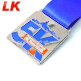 Entwerfen Sie Ihr EigenesのロゴのMetall-Zink-LegierungのマラソンMedailleの金属メダル