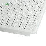 Usine de panneau de plafond perforée en aluminium insonorisées avec la norme ISO9001