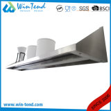 Tipo mensola resistente fissata al muro della scheda della strumentazione della cucina delle merci del metallo dell'acciaio inossidabile per il pallet