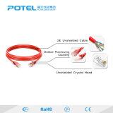 Разъем RJ45 неэкранированным медным Patch кабель CAT6A разъема кабеля Ethernet