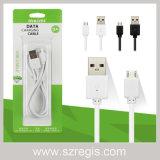 인조 인간 이동 전화 부속품 충전기 케이블 마이크로 USB 데이터 케이블