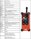 De controle remoto de rádio sem fio para de controle remoto de rádio do FCC do Ce elétrico da corrente F21-E1b para o guindaste