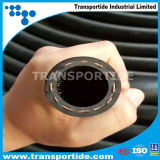 Faser-Flechten-flexibler Schlauch-eingewickelter Oberflächengummiluft-Schlauch