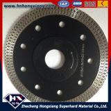 Diamante Cutting Wheel/Cyclone Mesh Turbo Diamond Saw Blade per Title, Ceramic