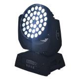 lavage UV DJ de 36X12W RGBWA DEL et éclairage principal mobile d'étape de disco
