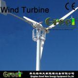 BV와 가진 고능률 20kw 수평한 시스템 바람 터빈