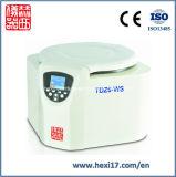 TDZ6-WS para sobremesa, a baja velocidad, acero, máquina centrífuga laboratorio