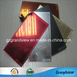 Feuille de Perspex rouge miroir pour publicité de plein air