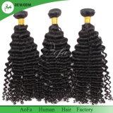 最上質のインドのバージンの毛のRemyの人間の毛髪の拡張