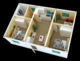 Дом контейнера стальной рамки портативная в полуфабрикат здании